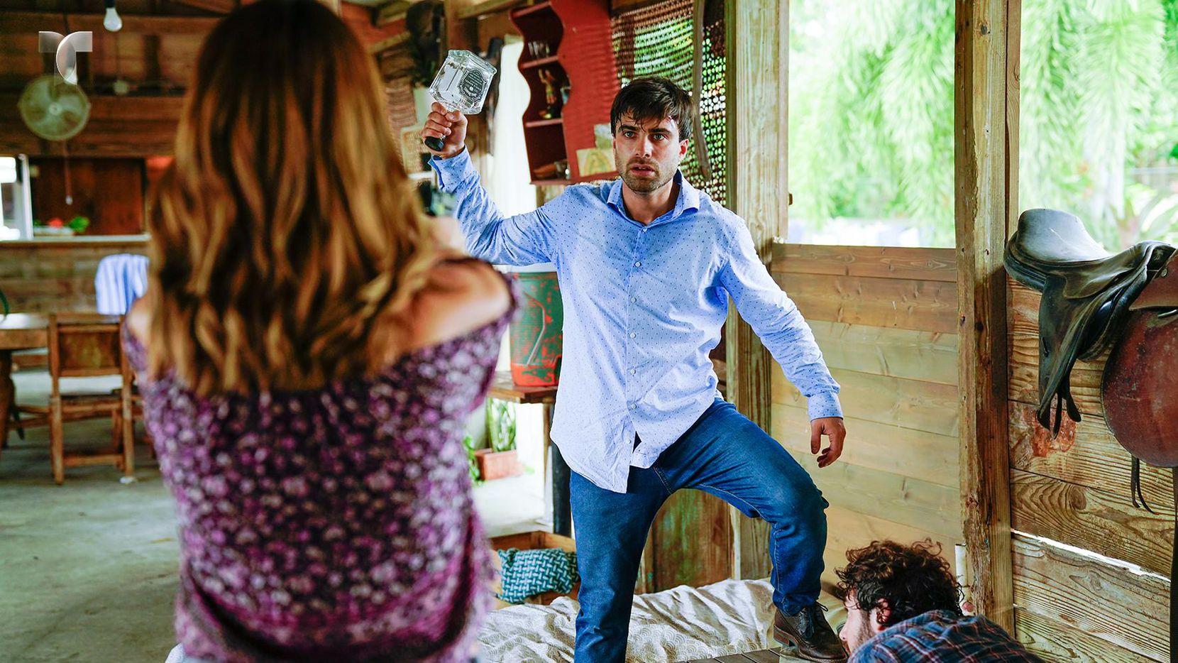 """El tema de la violencia doméstica estará presente en la nueva telenovela """"Sangre de mi tierra"""".(FOTOS: CORTESÍA TELEMUNDO)"""