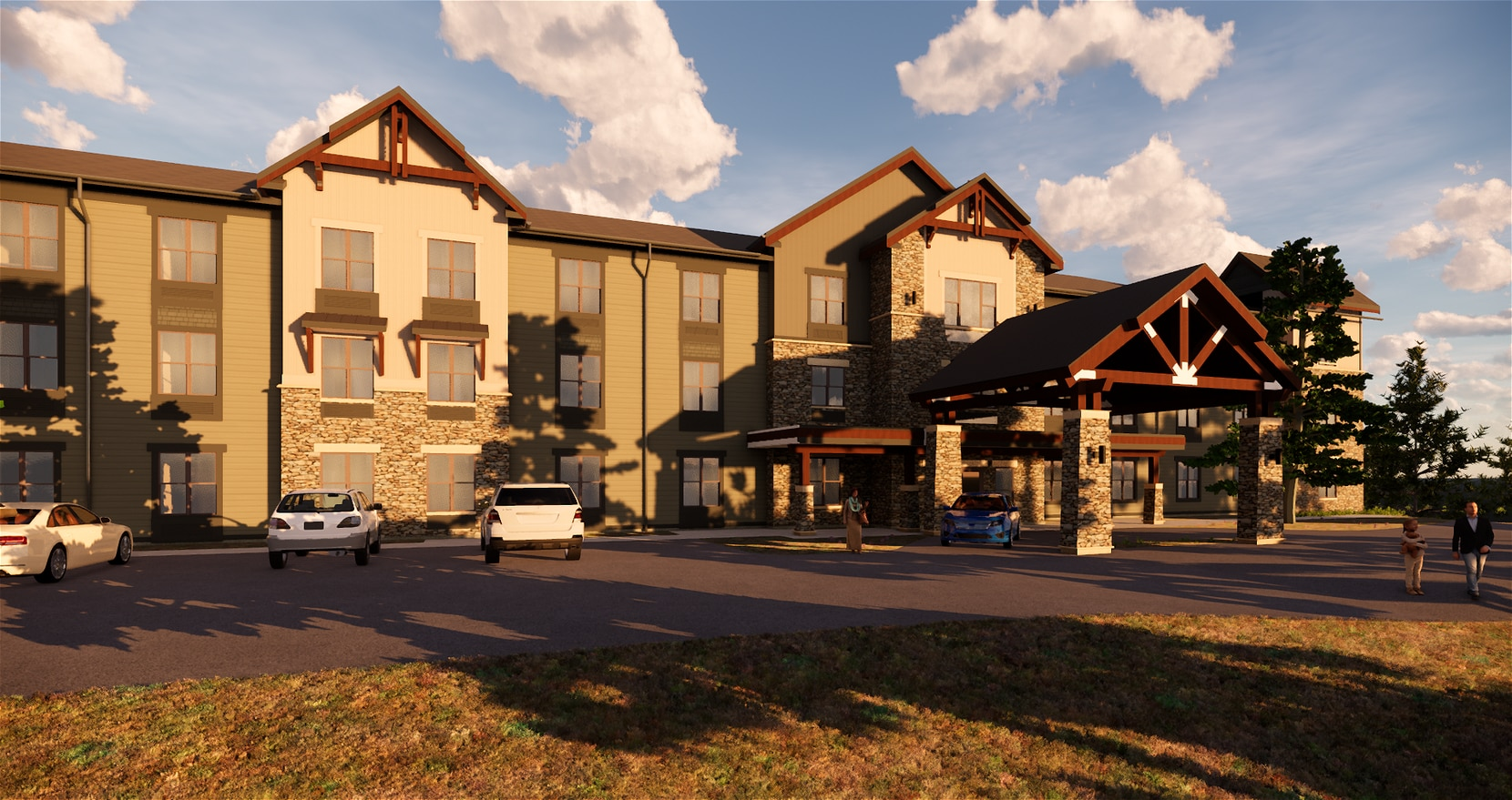 A rendering of the Flagstaff community to be developed by Civitas Senior Living and an Arizona developer.