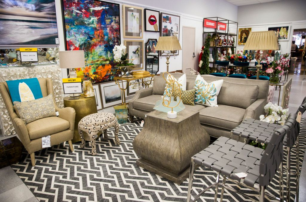 Off-price home decor items are on display at  Horchow Finale on Thursday, January 17, 2019 in Plano. Horchow Finale is a home decor store associated with Neiman Marcus Last Call. (Ashley Landis/The Dallas Morning News)