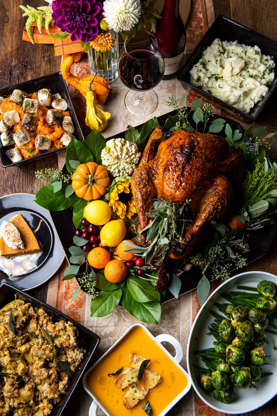 You won't have to wash any dishes this Thanksgiving if you let the chefs at Crú Food & Wine Bar do the cooking. Dozens of restaurants in North Texas are offering special Thanksgiving menus on Thursday, Nov. 28, 2019.