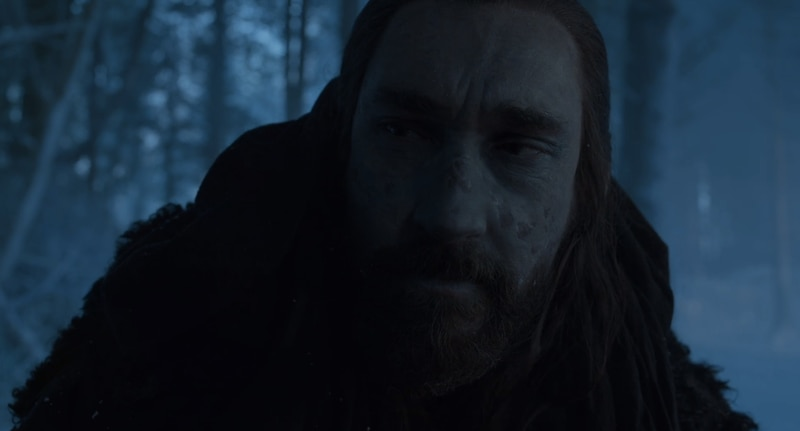 Poor Benjen, you've seen some better (and less rotted) days.