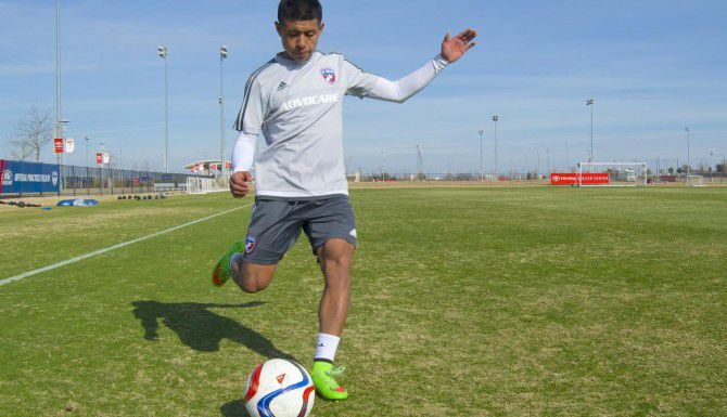 El mexicano Damián Rosales está a prueba desde hace dos semanas con el FC Dallas. (ESPECIAL PARA AL DÍA/JONATAN BENÍTEZ)