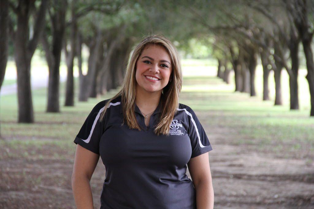 Ana Jimenez, a Texas A&M International University student who benefits from tuition set-asides.