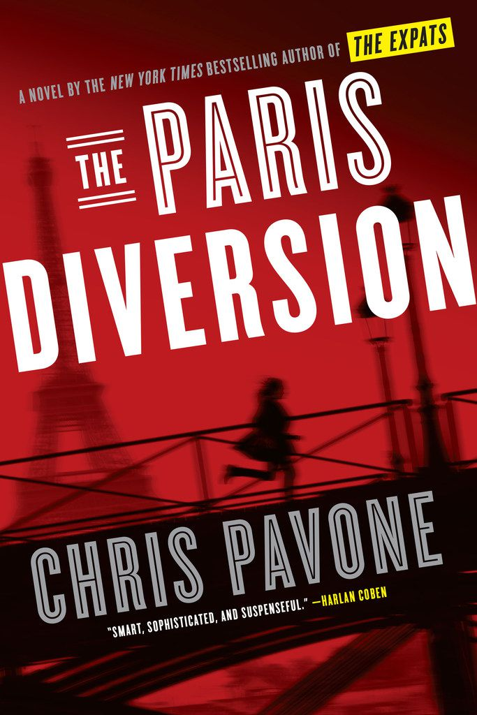 The Paris Diversion by Chris Pavone boasts an outrageous plot and many can't-look-away scenes.