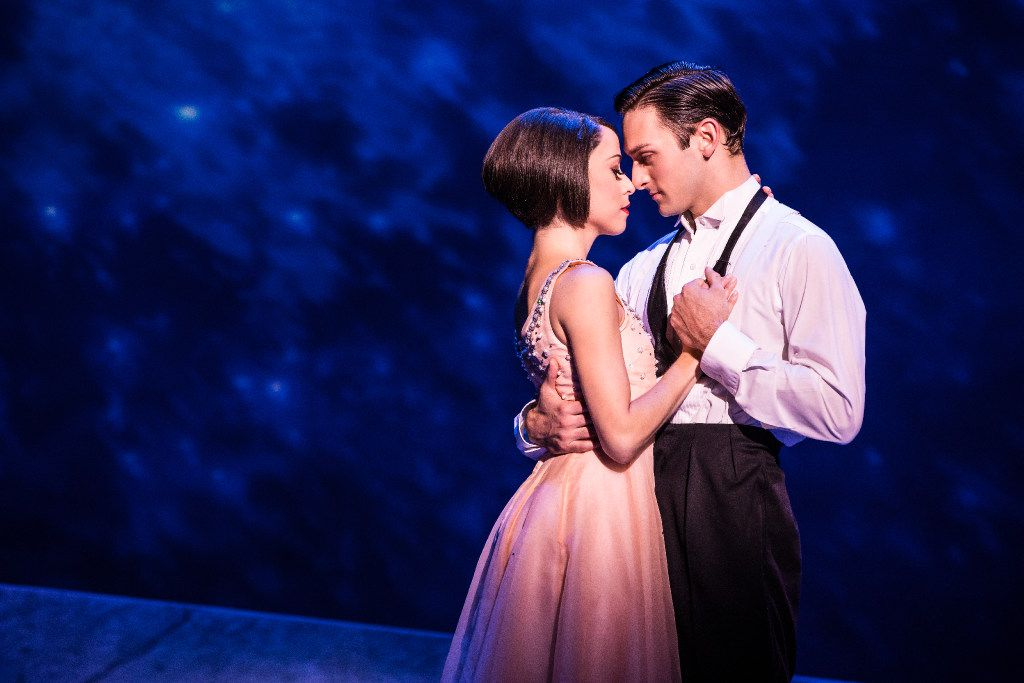 Sara Esty and Garen Scribner perform in the national tour of An American in Paris presented by Dallas Summer Musicals at Fair Park Music Hall Jan. 31-Feb. 12, 2017 and by Performing Arts Fort Worth at Bass Hall Feb. 14-19, 2017.