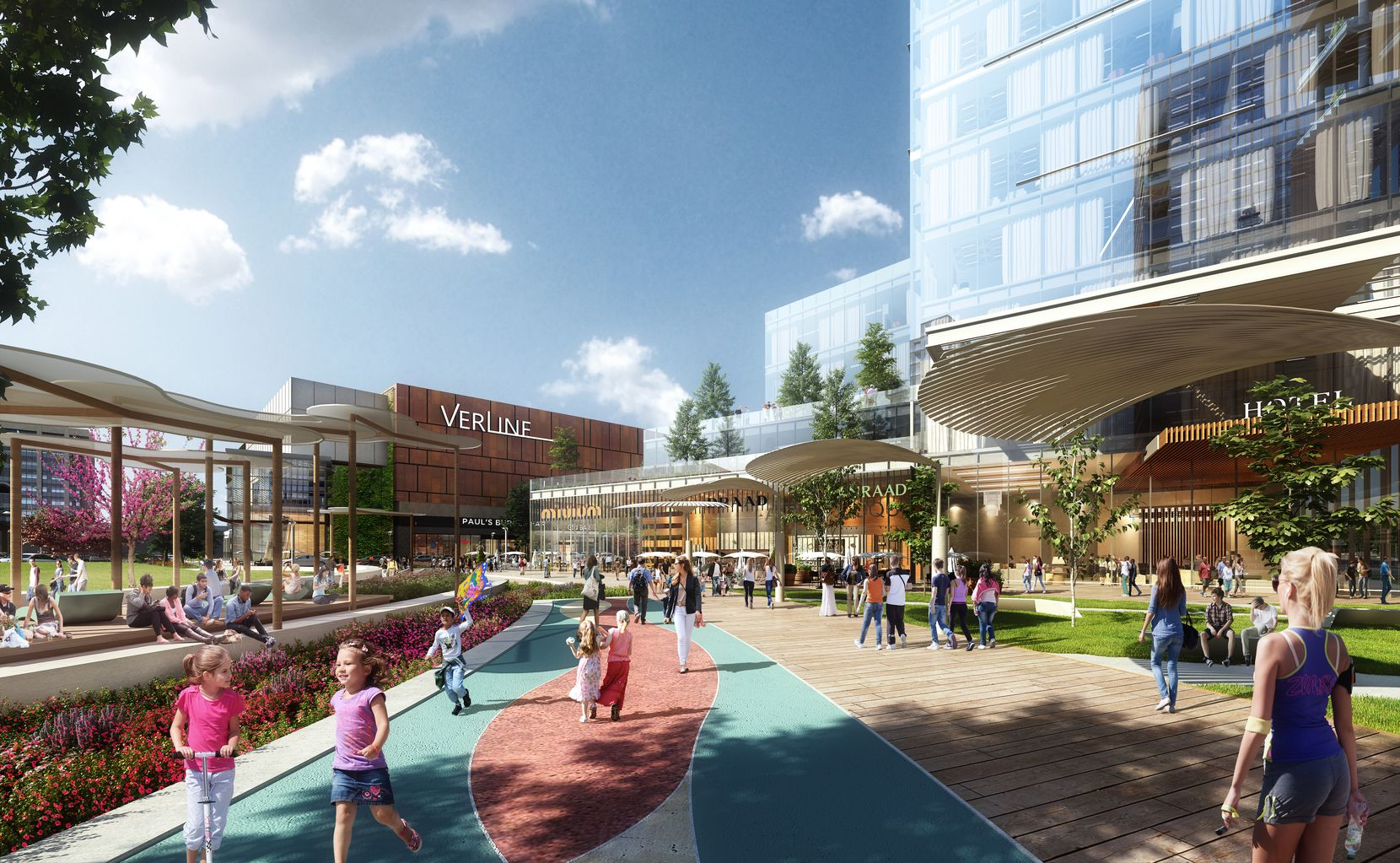 The $1 billion Park Heritage development will have office, retail and residential space.