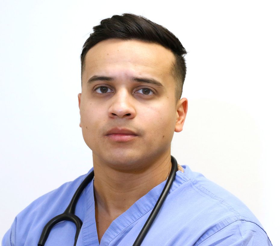 Johan Valle graduated from UT-Dallas in 2014, where he had earned a full scholarship and double-majored in neuroscience and biology. Now 25, he is in his third year at UNT Health Sciences Center, the only medical school that admitted him after learning about his immigration status.