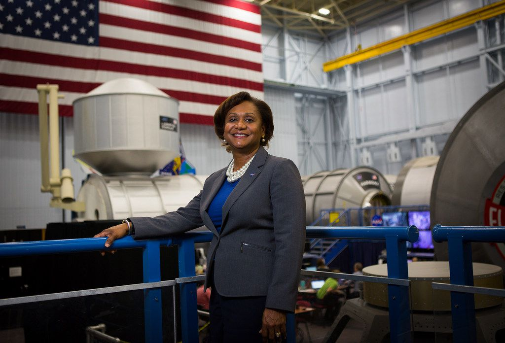 Vanessa Wyche, a nearly 30-year veteran of NASA, became the second in command at Houston's Johnson Space Center in August and the first African American to hold the position.