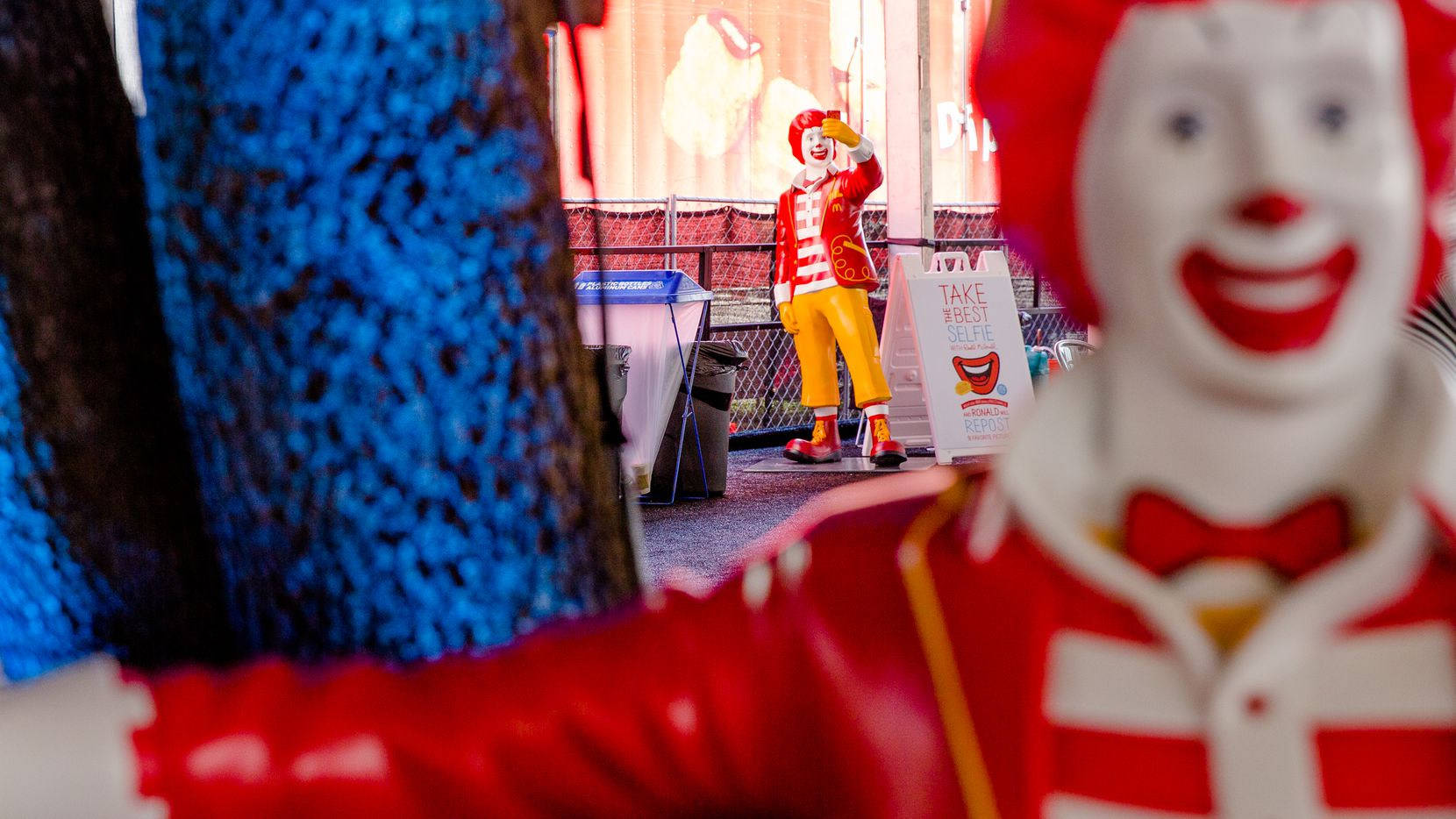 The McDonald's Showcase on 4th and Red River offers badge holders free food, free wifi, charging stations and a music line-up in Austin, Texas on March 18, 2015.