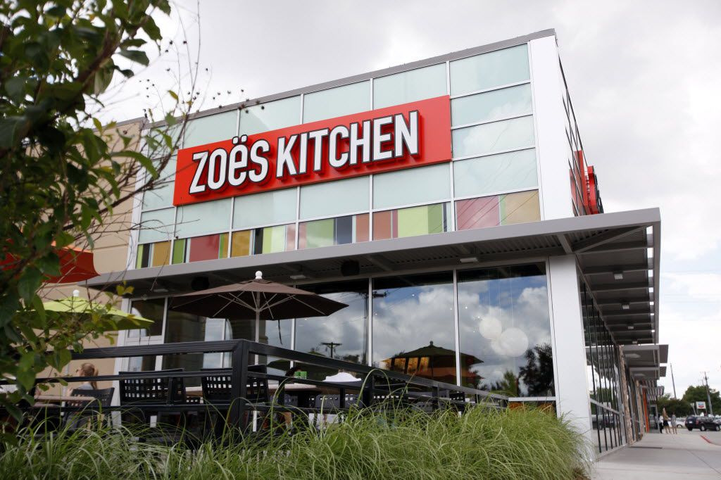 Zoes Kitchen now sells Whole 30 items.
