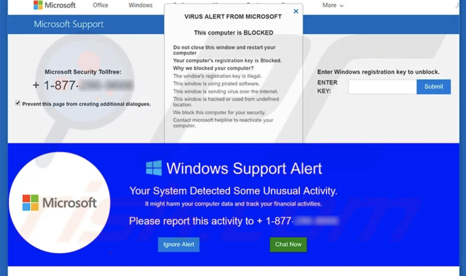 Fake Microsoft support pop-ups will try to trick you — don't