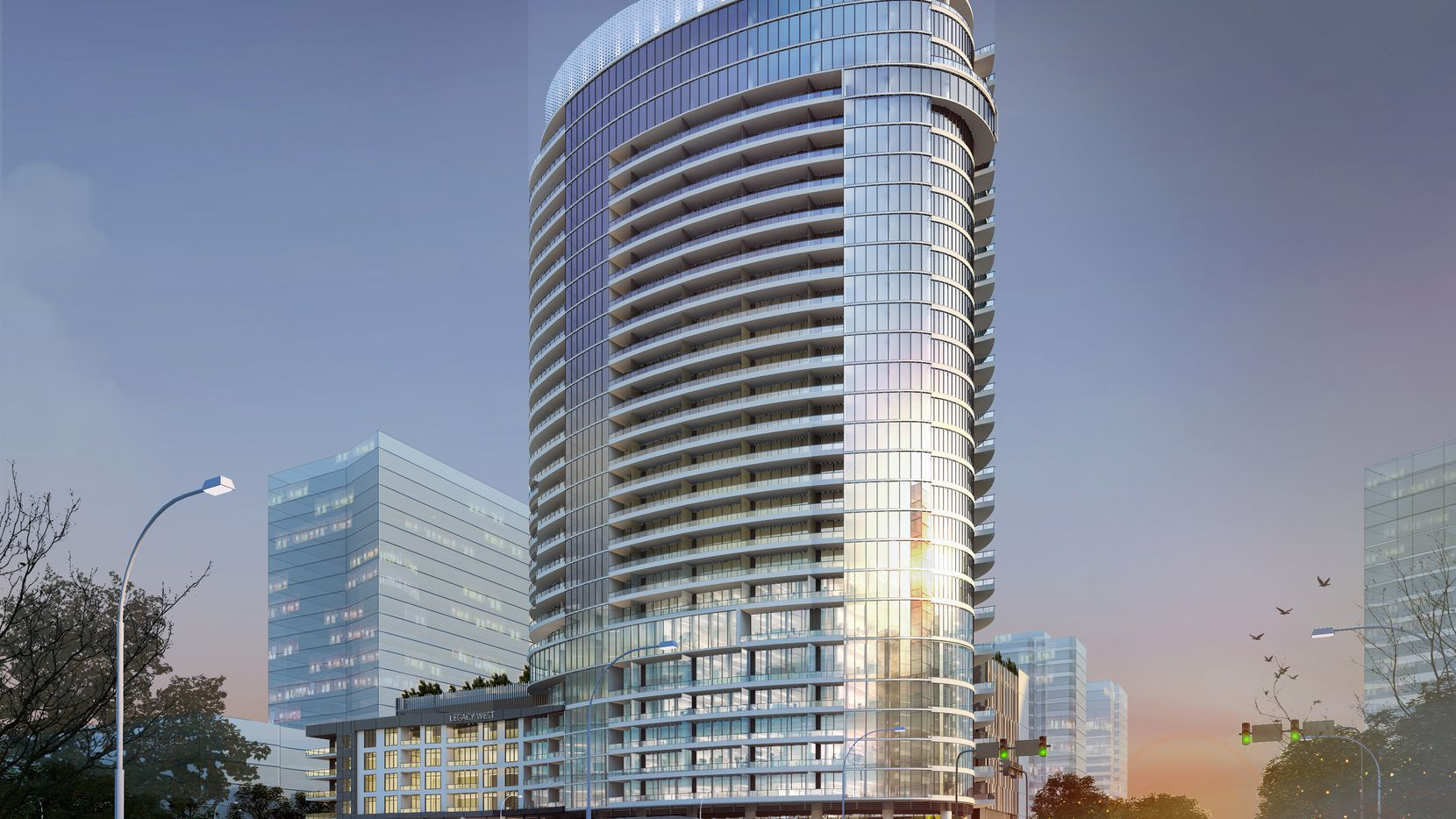 The LVL 29 tower will be the tallest building in Plano's $3 billion Legacy West development. (Humphreys & Partners)