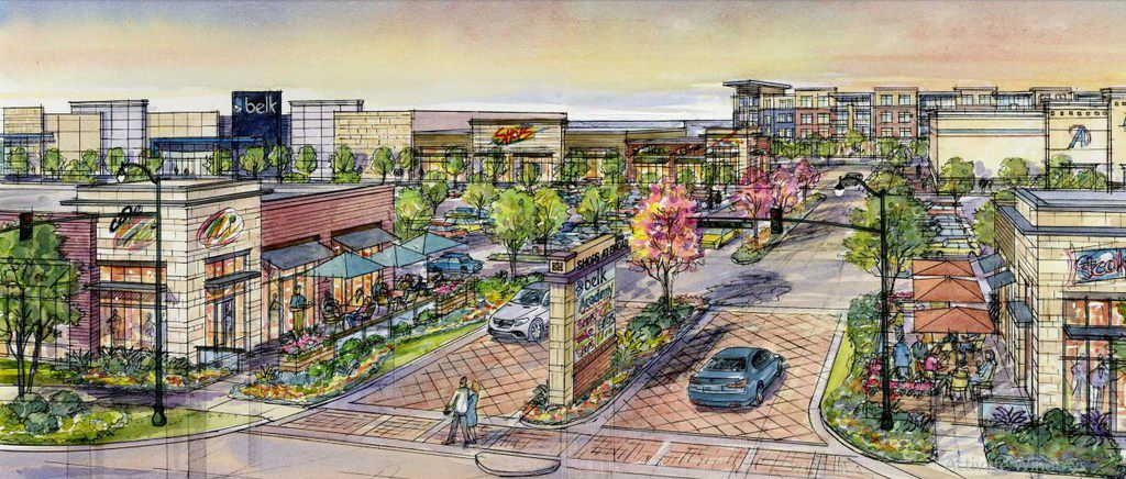 CBRE is leasing the Shops at Broad in Mansfield, an 81-acre mixed-use development by Geyer Morris Co. The project is scheduled to open in 2019 with 430,000 square feet of retail.
