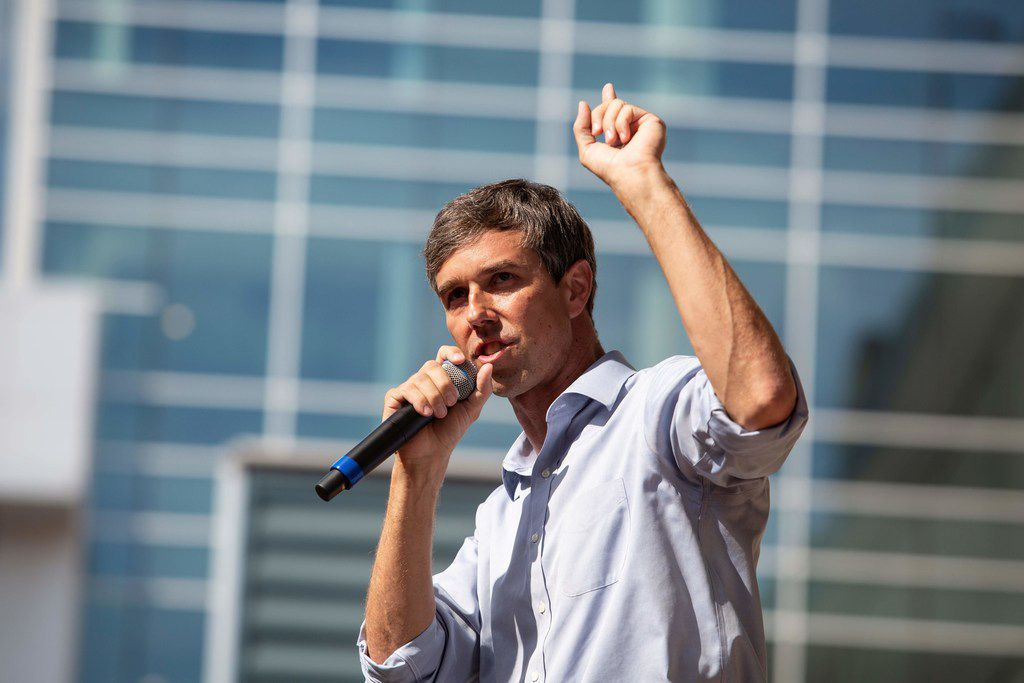 Beto O'Rourke's announcement that he's running for the Democratic presidential nomination lit up social media on Thursday.