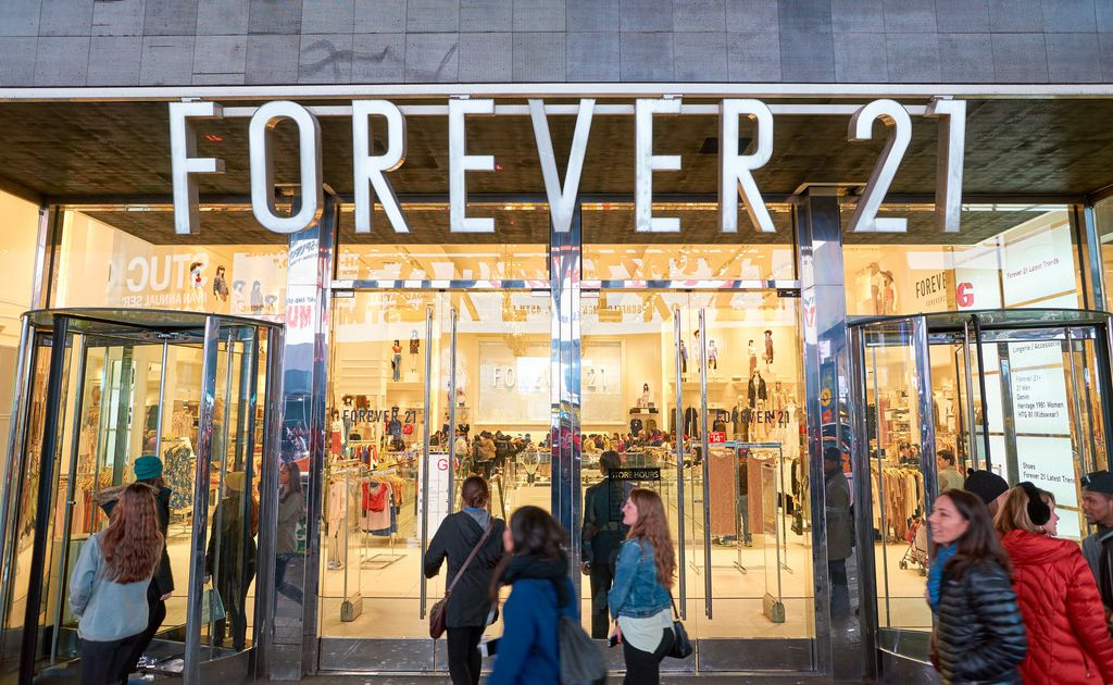 Fashion retailer Forever 21 prepares for potential bankruptcy