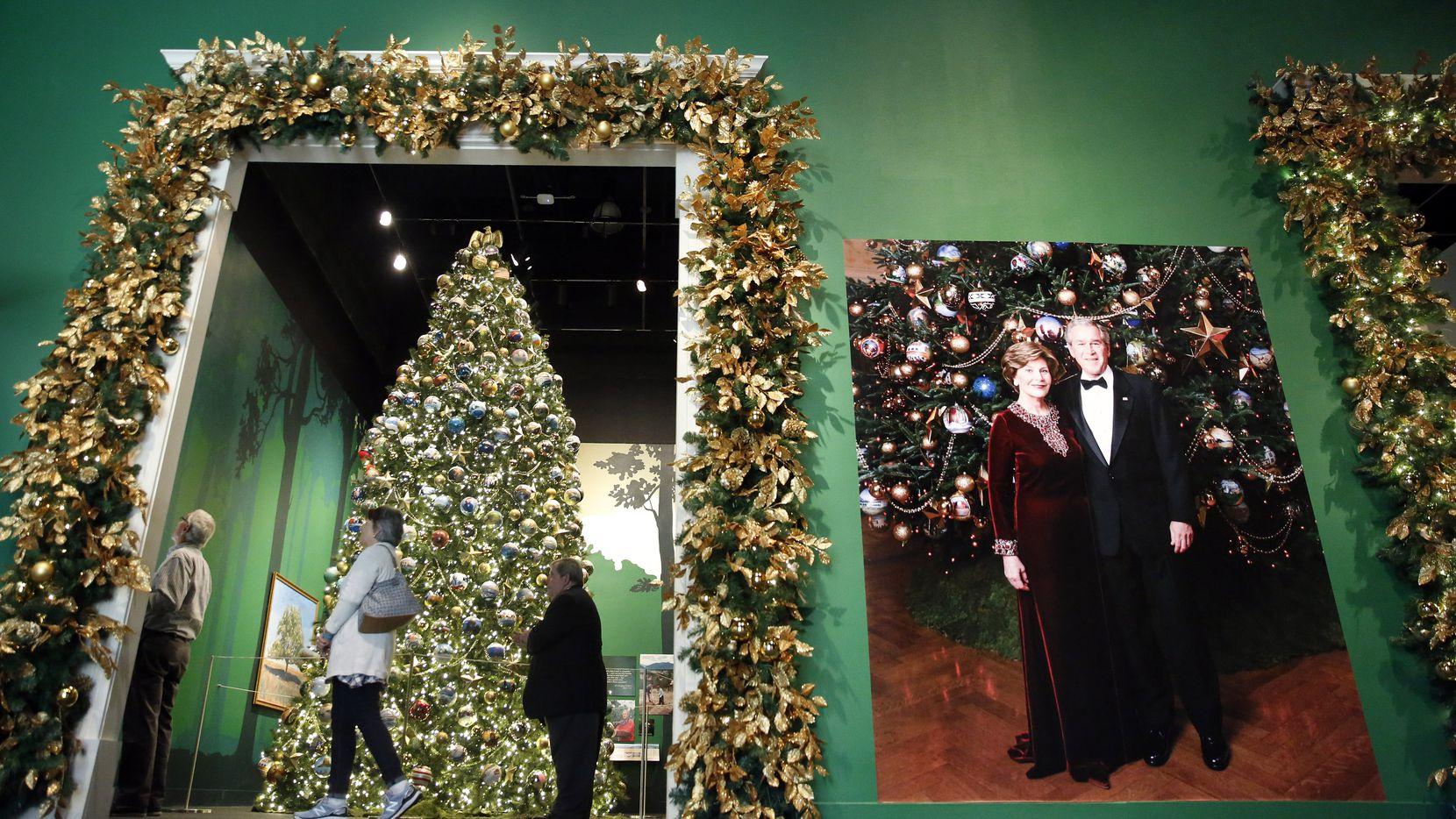 White House Christmas Tour 2020.National Parks Take Center Stage At Bush Center S Christmas