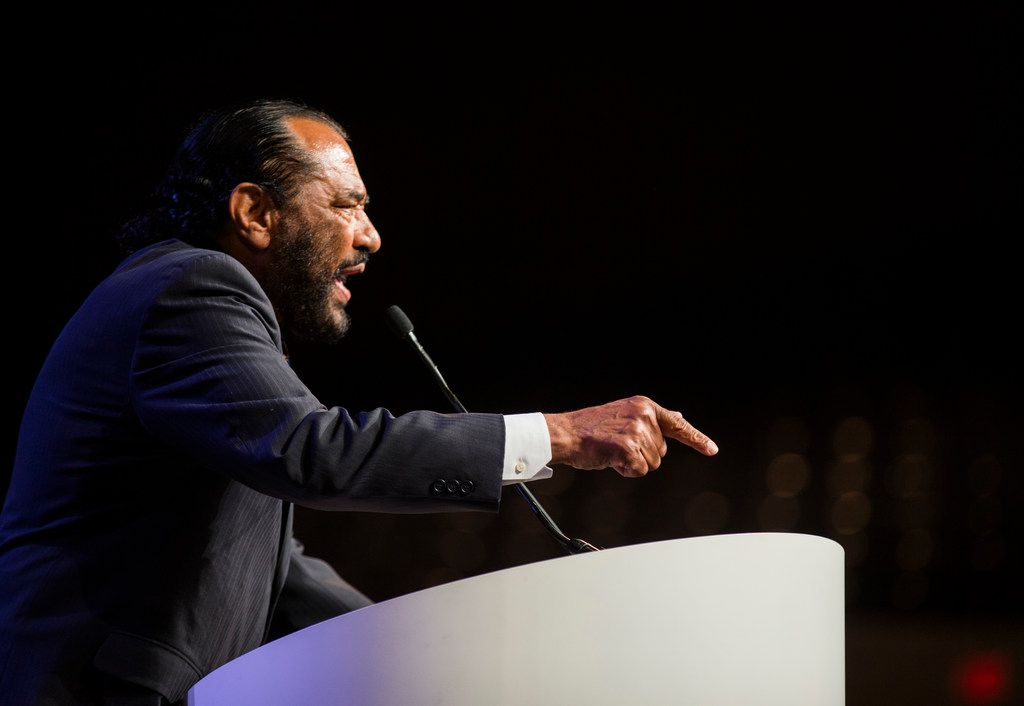 """Rep. Al Green, D-Houston, continues to push for President Donald Trump's impeachment, saying that """"failure to impeach a constitutionally unfit president puts society at great risk of additional harm."""""""