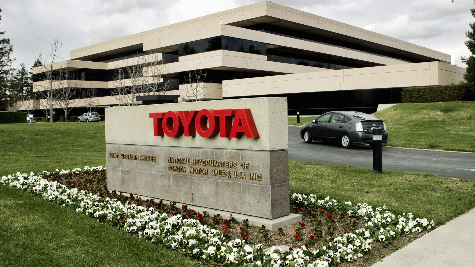 Toyota has sold its former North American headquarters to a California real estate investor.
