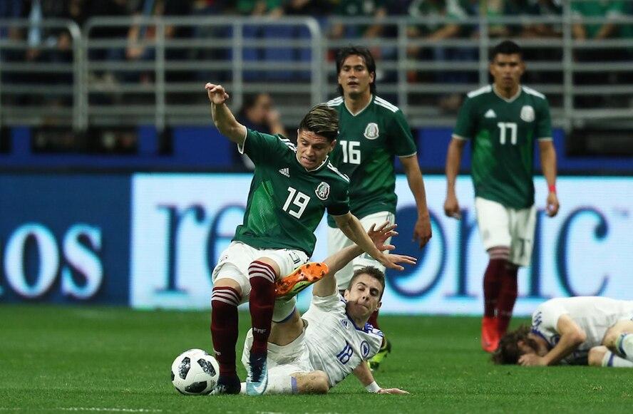 Jonathan González (19) debuta con el Tri en San Antonio. Foto de Omar Vega para Al Día.