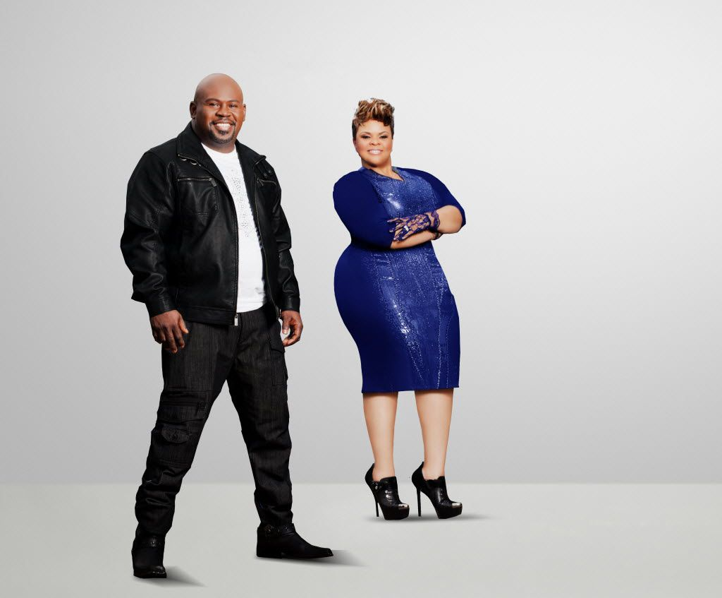 David and Tamela Mann star in It's a Mann's World.