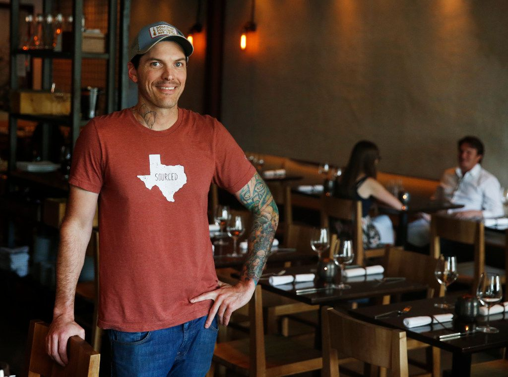 Matt McCallister's virtuosic cooking has helped make FT33 arguably Dallas' most exciting restaurant for the better part of the last half-decade. The chef has recently made significant changes in his restaurant's format and mission. (Tailyr Irvine/The Dallas Morning News)