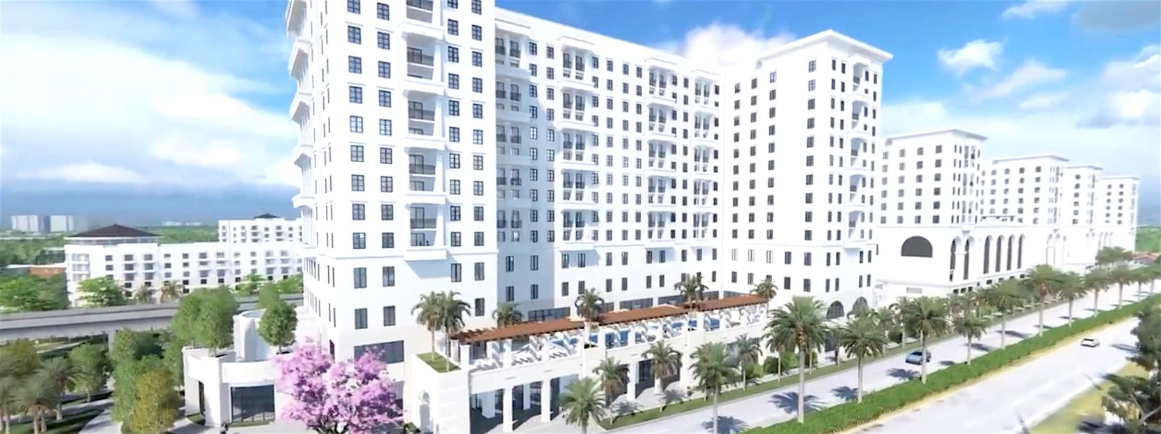 Life Time Living at Coral Gables will have 358 residences.