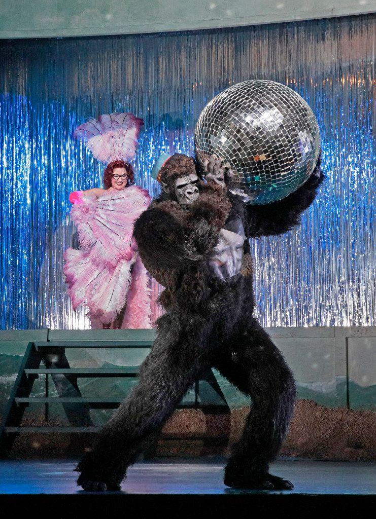 Anna Christy (Morgana) And Alek Shrader (Oronte) in Alcina at the Santa Fe Opera.