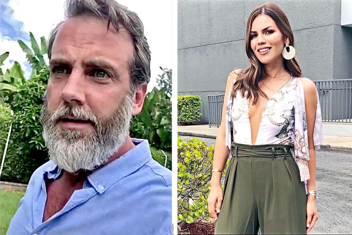 El actor Carlos Ponce y la periodista Karina Banda (foto) iniciaron un romance./ AGENCIA REFORMA