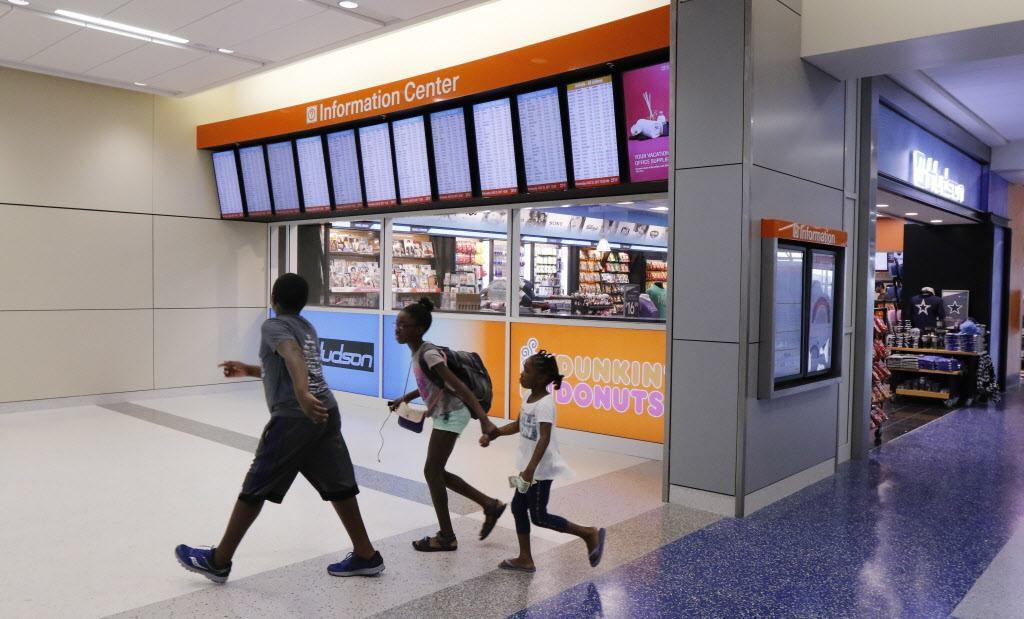 El Aeropuerto DFW estrenó un nuevo 'look' para la Terminal E.  DAVID WOO/DMN