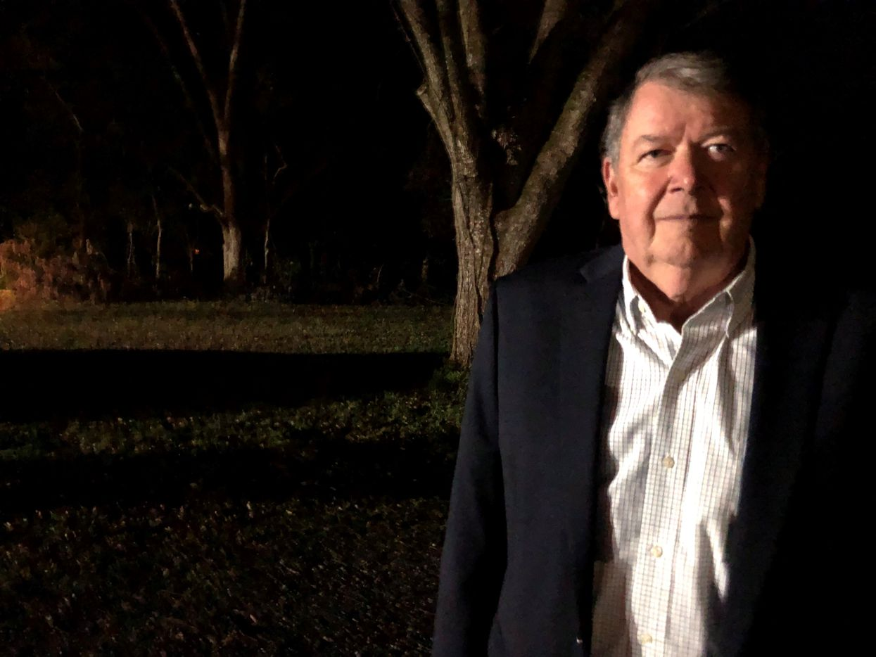Plains mayor Lynton Earl Godwin III, 75, is a longtime friend of Jimmy Carter.