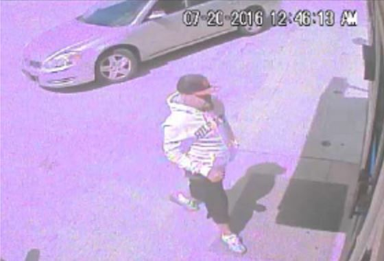 Police were looking for this man in connection with the slaying.