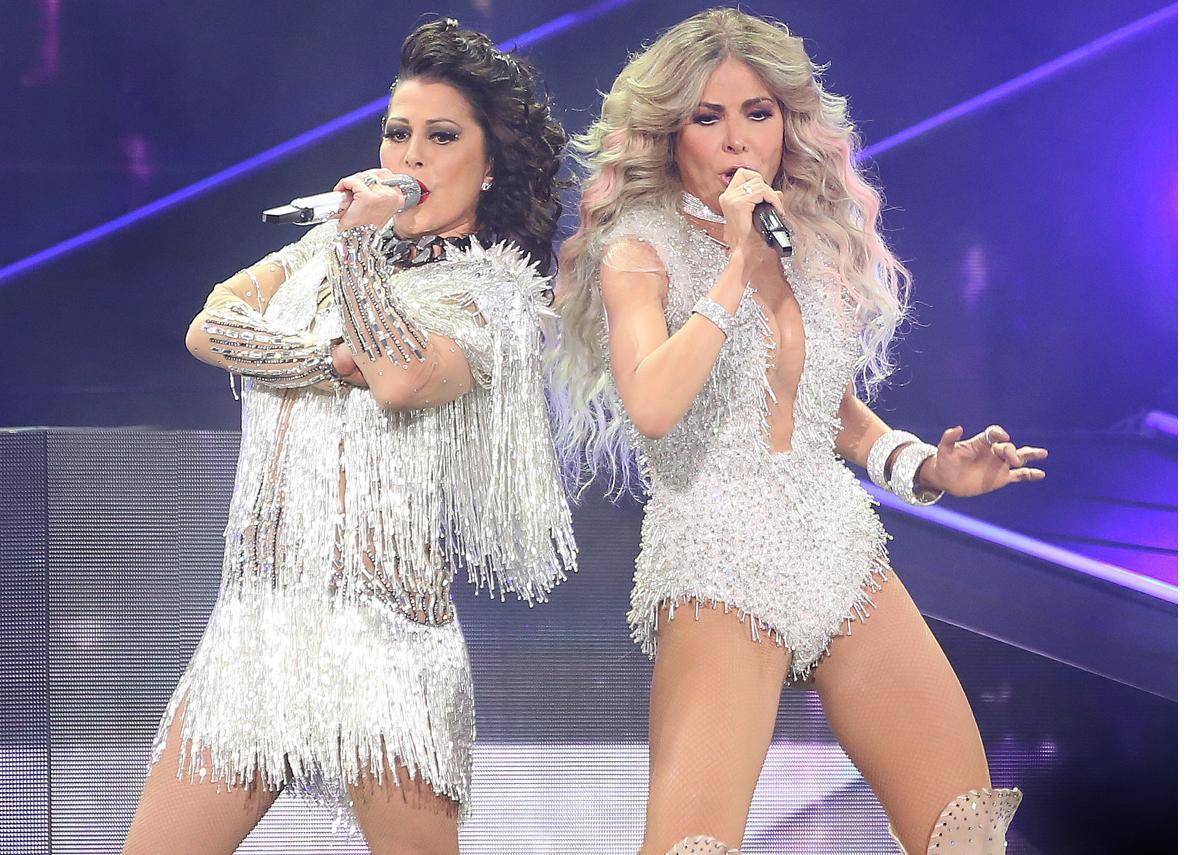 """La gira """"Versus World Tour"""" de Alejandra Guzmán y Gloria Trevi consta de 30 conciertos en Estados Unidos.(AGENCIA REFORMA)"""
