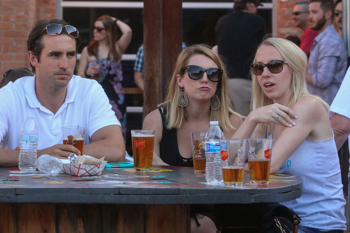Pints for Paws charity event  with all proceeds benefit The Puppy Rescue Mission was held at Deep Ellum Brewing Co on April 25, 2015.