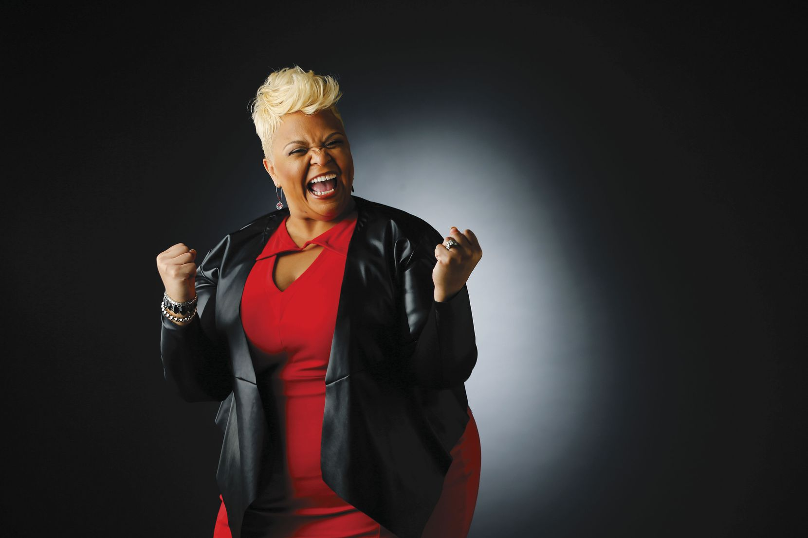 "Fort Worth native Tamela Mann celebrates her Grammy nomination for ""God Provides."" The No. 1 single is off an album on which she and husband David Mann were executive producers."