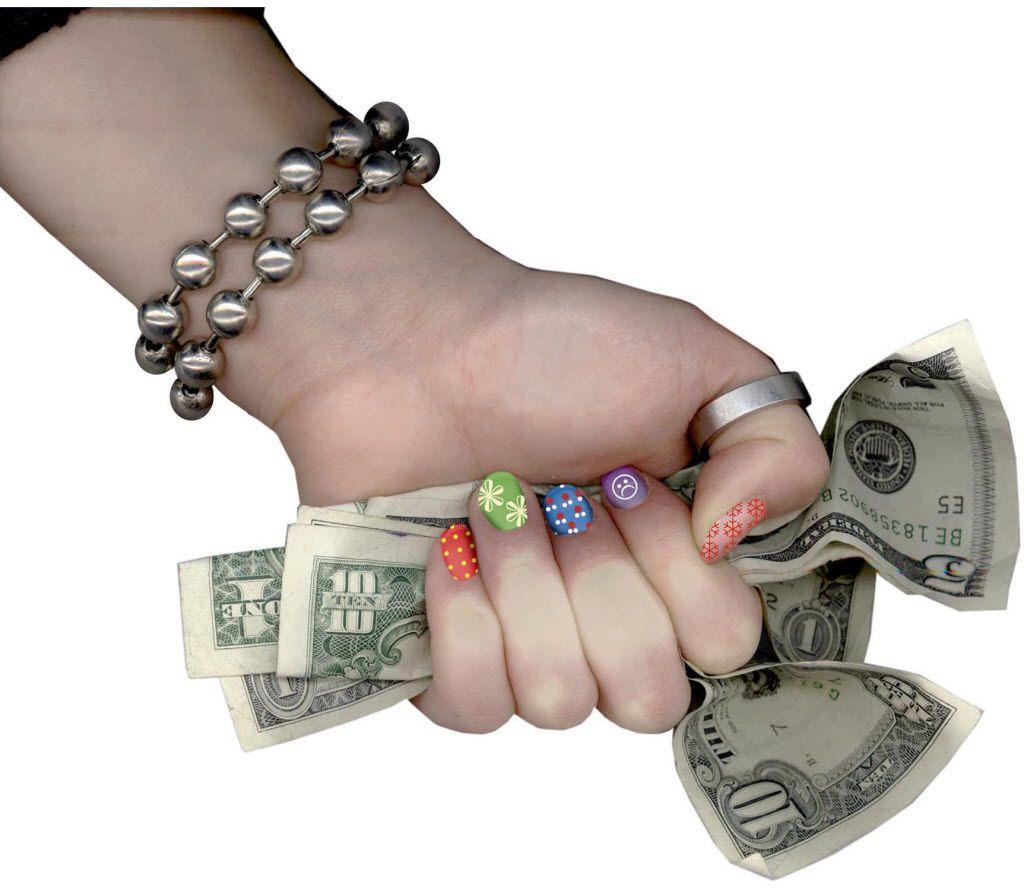 File photo of teen spending.