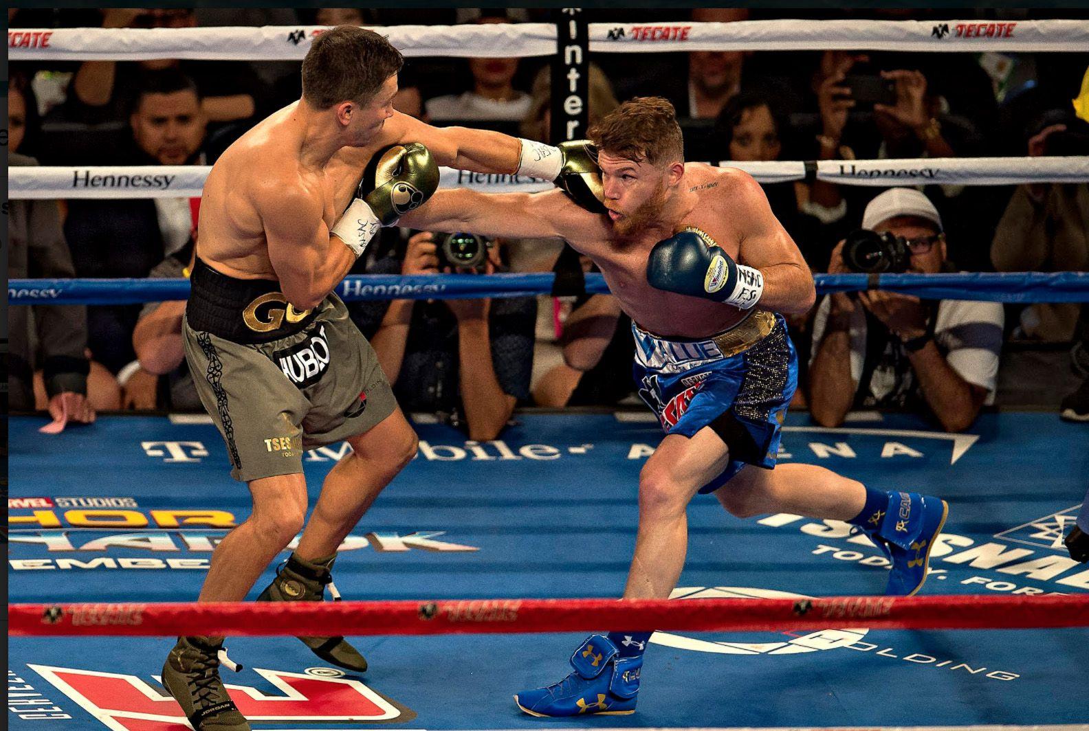 Gennady Golovkin y Saúl Àlvarez se enfrentaron el sábado 16 en Vegas. Foto AL DÍA