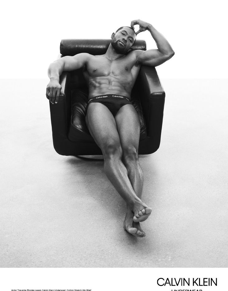 """North Texan Trevante Rhodes is featured in a fresh ad campaign featuring the men of """"Moonlight."""""""