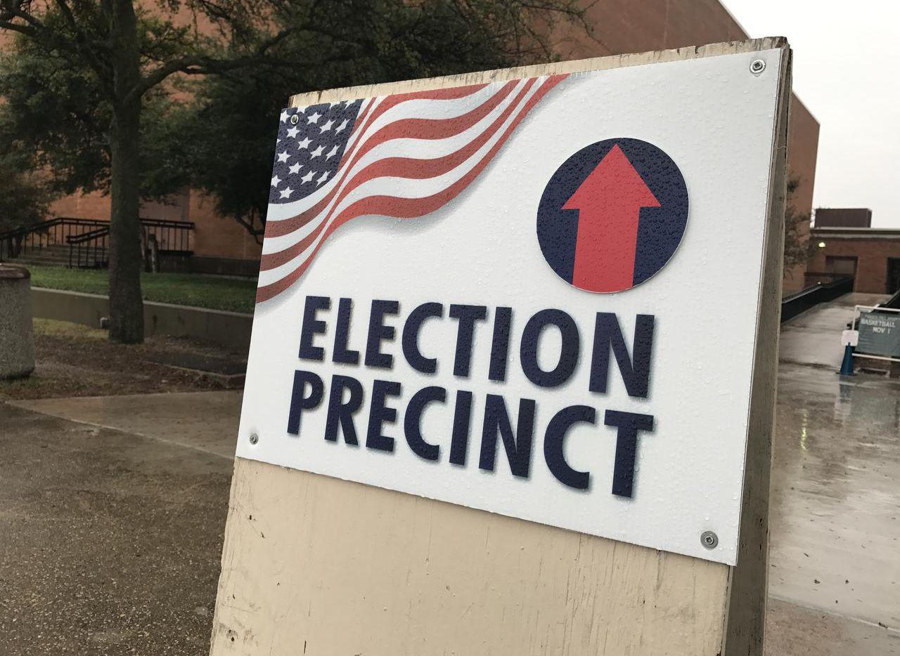 Una casilla de votación en el condado de Dallas.(AL DÍA)