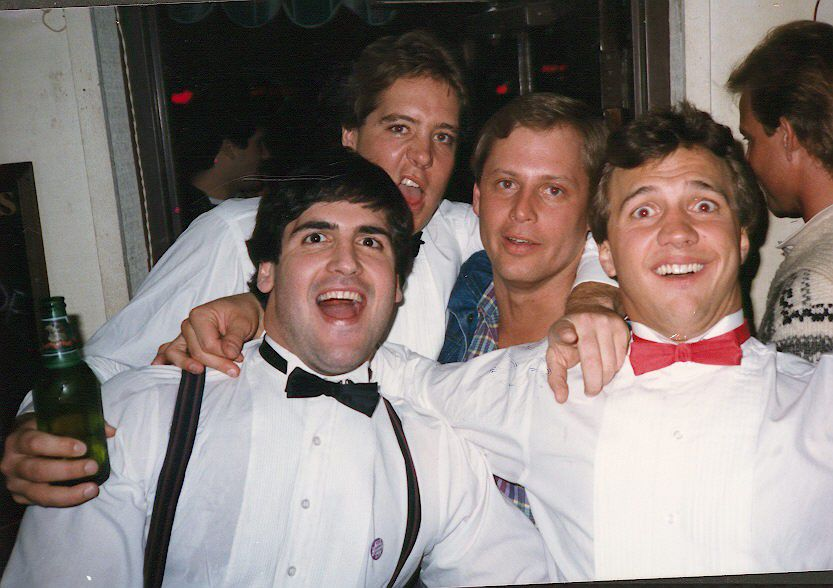 (L-R) Mark Cuban, Scott Susens, Martin Woodall and Greg Schipper. Photo courtesy of Mark Cuban