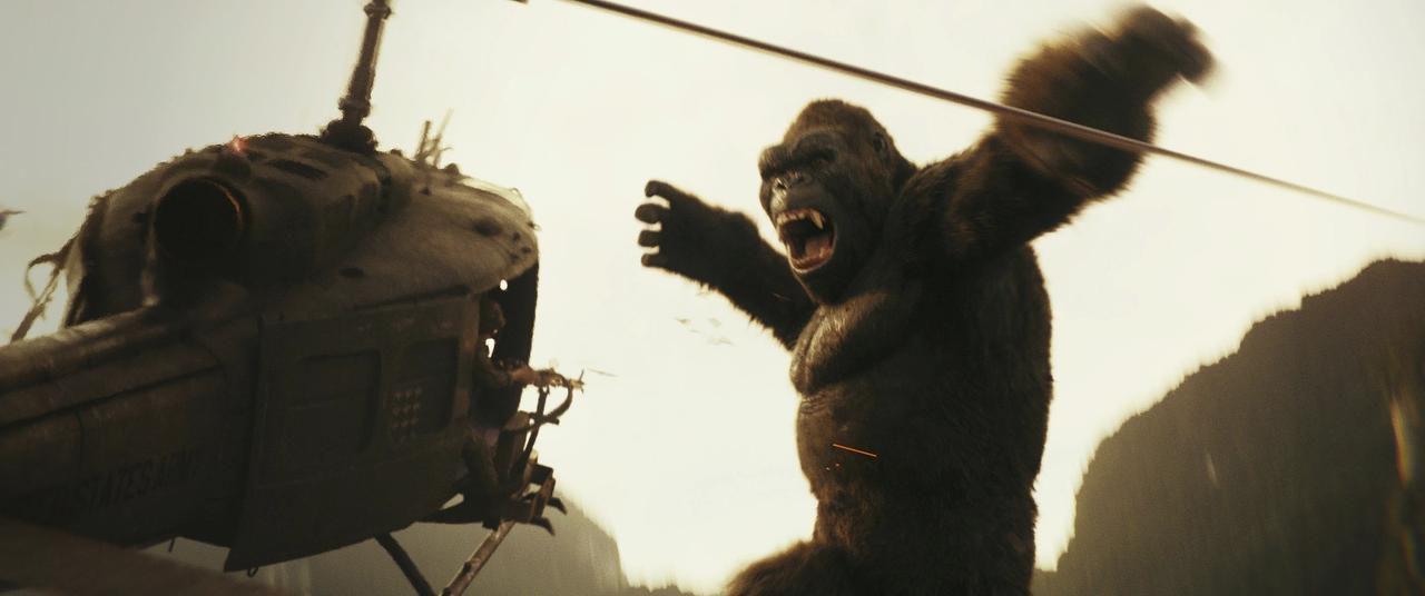 """Una escena de """"Kong: Skull Island"""", que se estrenó este viernes(Warner Bros. Pictures)"""