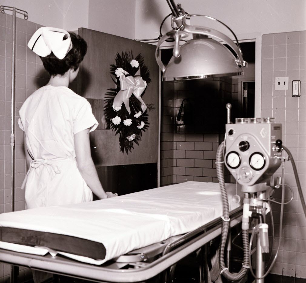 Nov. 22, 1965: Parkland Hospital, Trauma Room No. 1 , on the second anniversary of John F. Kennedy's death.