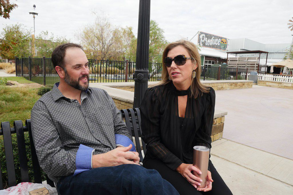 Adam King, with wife Kim, says,  What s the point of coming here to buy something you can get at Target?
