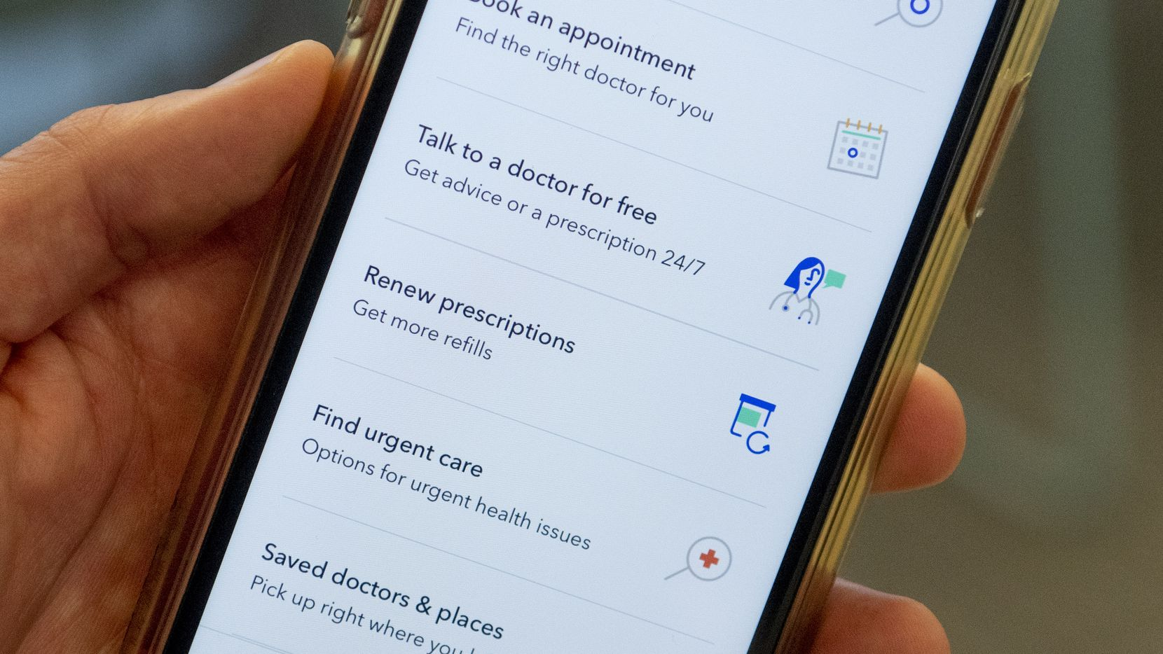 Oscar Health says its app helps improve its customer service — one of the biggest consumer complaints about health care.