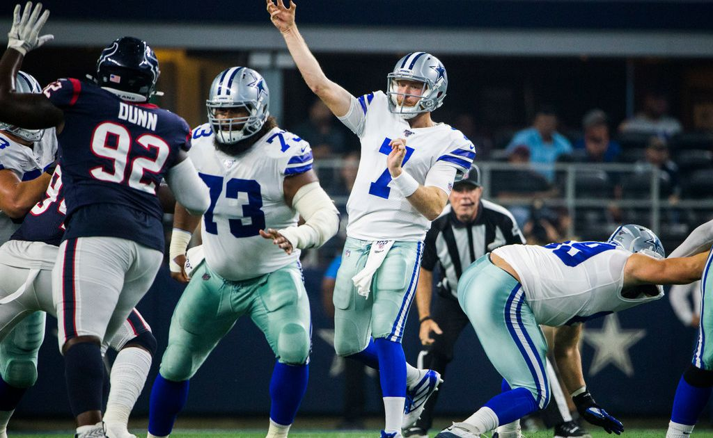 Cowboys QB Cooper Rush has (hopefully) just one last chance to show off what he can do before taking his spot on sideline