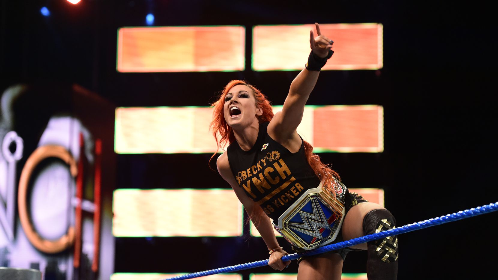 WWE SmackDown Live women's champion Becky Lynch