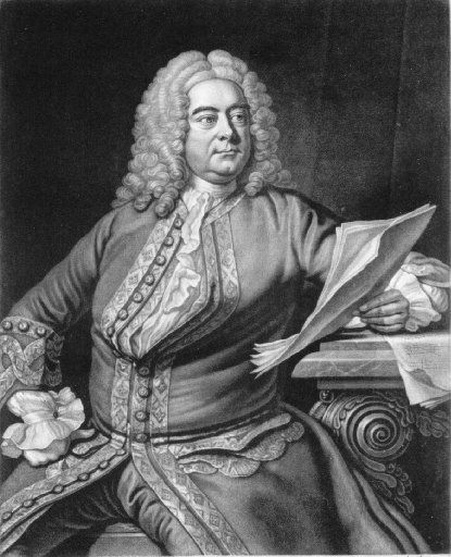 Handel by John Faber after Thomas Hudson mezzotint engraving, 1749, courtesy of the Handel House Museum