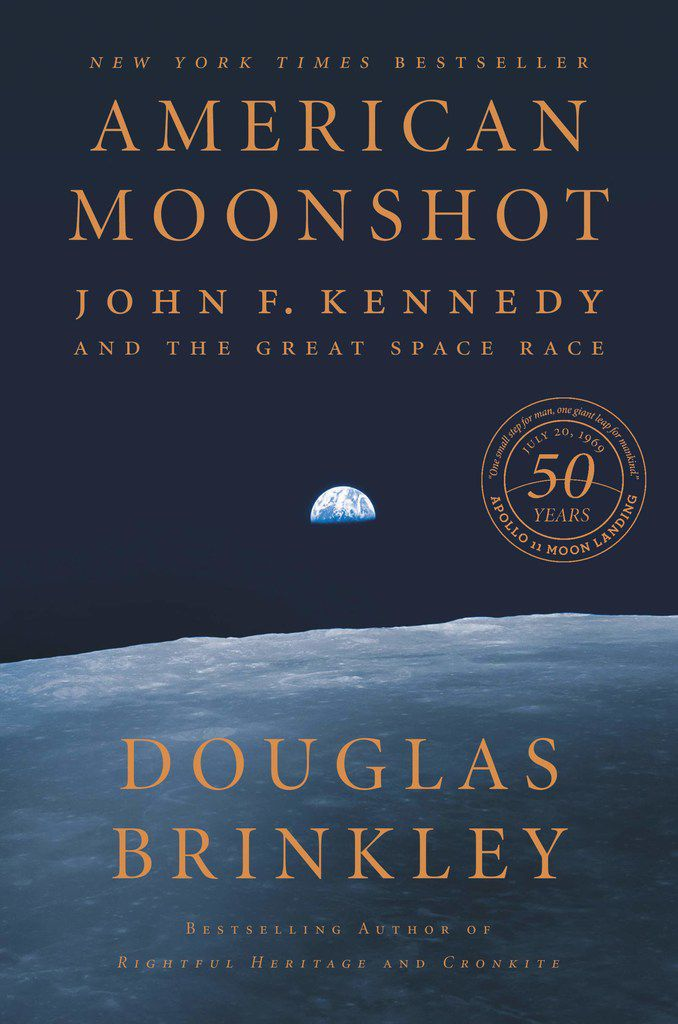 American Moonshot: John F. Kennedy and the Great Space Race by Douglas Brinkley details the Herculean effort to leapfrog the Soviets in the race to the moon.