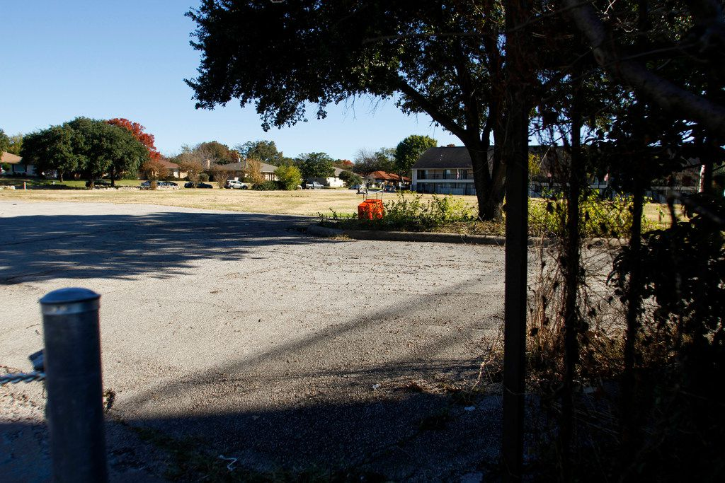 The city hopes maybe it can find a partner to develop something of the mixed-use flavor near Marsh and Forest lanes.