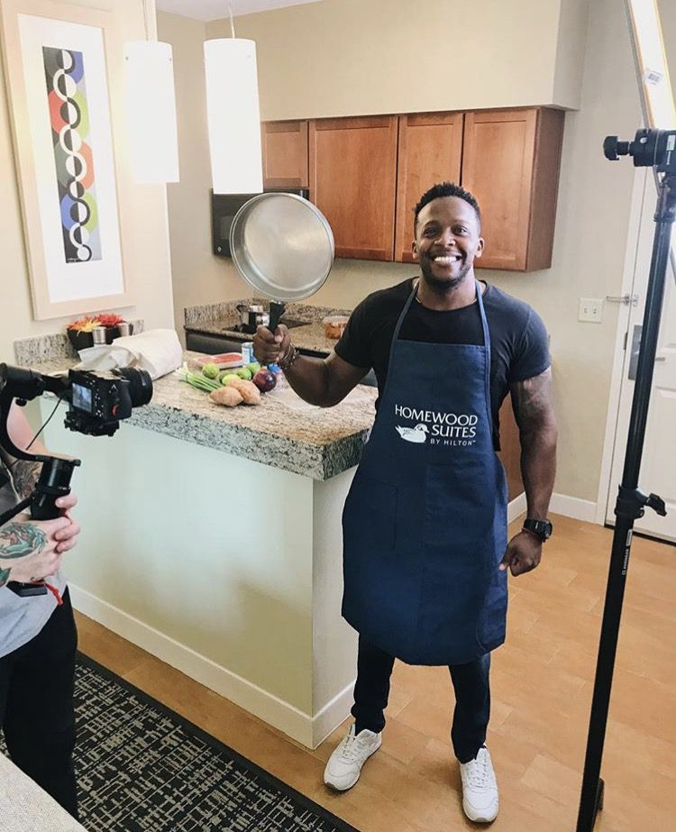 Kevin Curry's recipes will have you drooling -- and that's just the photos of them! (Fit Men Cook)