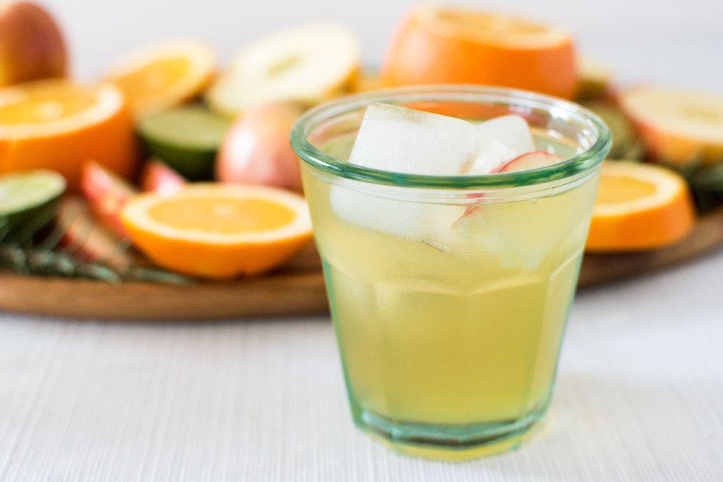 Rosemary Apple Soda